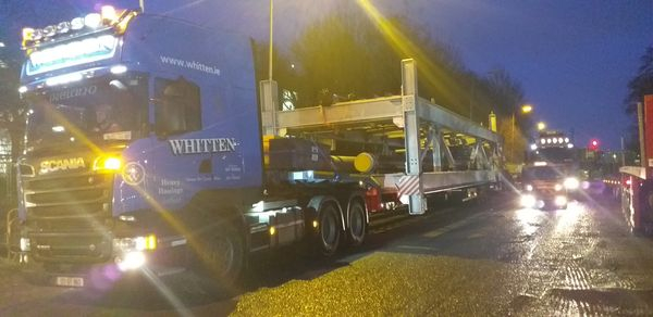 Whitten Road Haulage - Ringaskiddy to Kildare 24m long * 4.6m wide