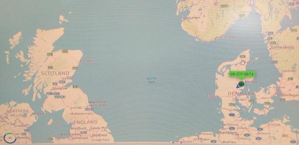 Whitten Road Haulage - 3.8m Denmark to Ireland