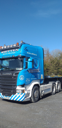 Whitten Road Haulage - New camera monitoring systems