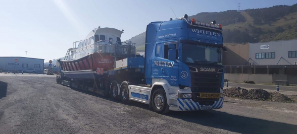 Whitten Road Haulage - Pilot Boat to Morocco