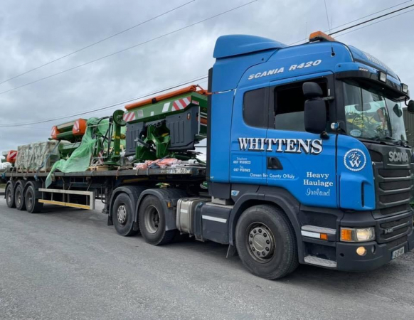 Whitten Road Haulage - Agricultural Machinery