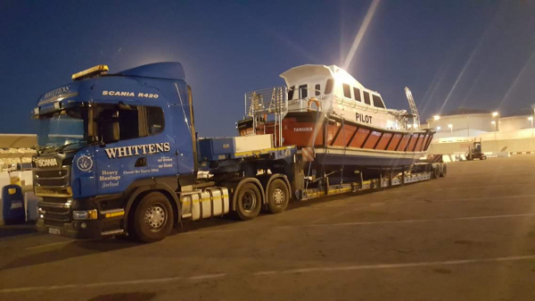 Whitten Road Haulage - 2x Pilot Boats from Cork to Morocco