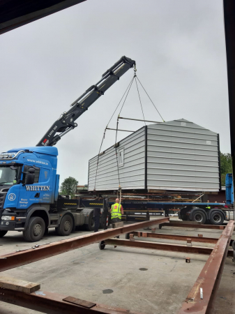 Whitten Road Haulage - HiAb Crane Lorry