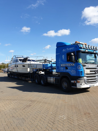 Boat Haulage - Barton-on Crouch- to Portumna