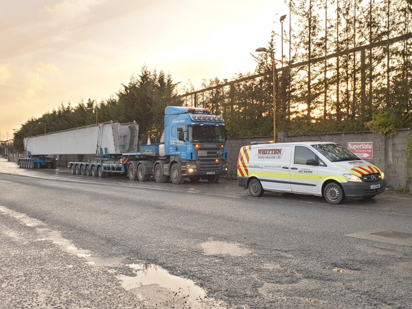 Whitten Road Haulage - Beams to Dungiven Bypass