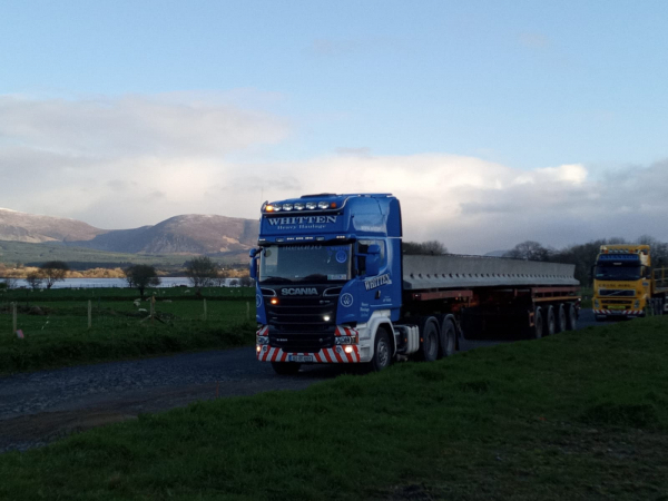 Whitten Road Haulage - One month in the 152