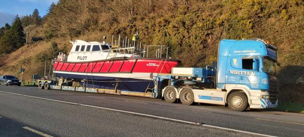 Whitten Road Haulage - Pilot 48 Boat Launch