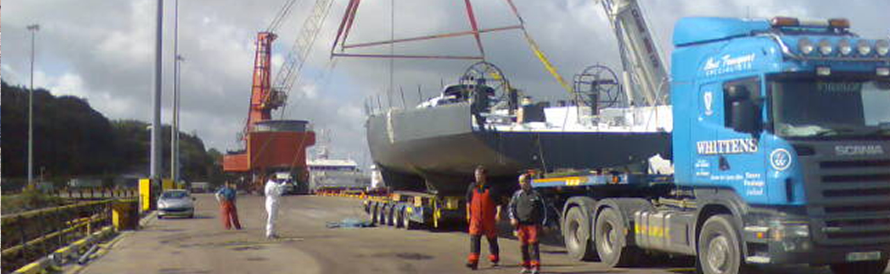 Boat Transport Haulage