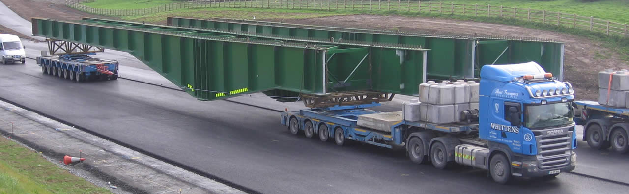 Steel Beam Transport